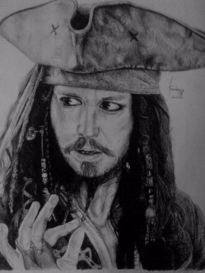 Johnny Depp by Anastazija